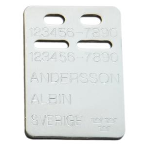 ID-bricka Albin