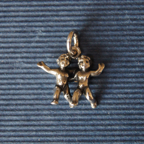 Berlocker i silver